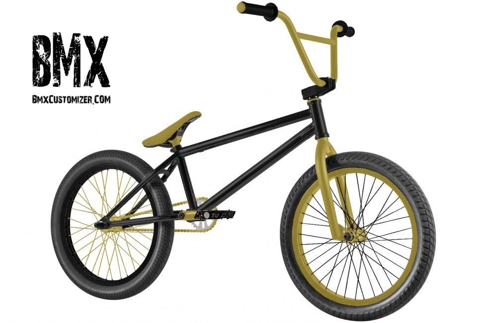 Customized BMX Bike Design 138229