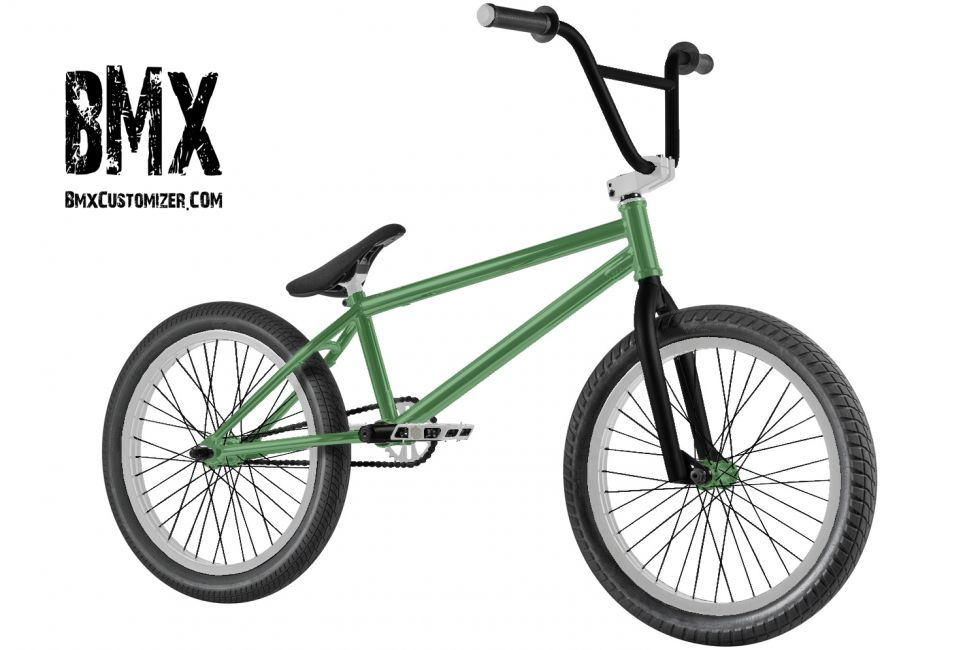 Customized BMX Bike Design 150938