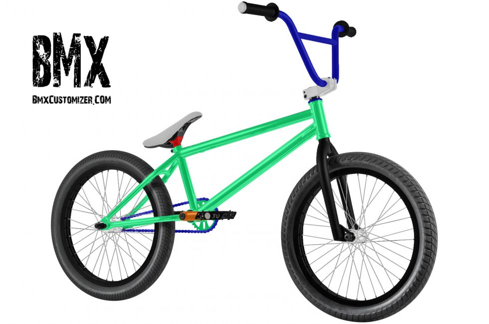 Customized BMX Bike Design 184237