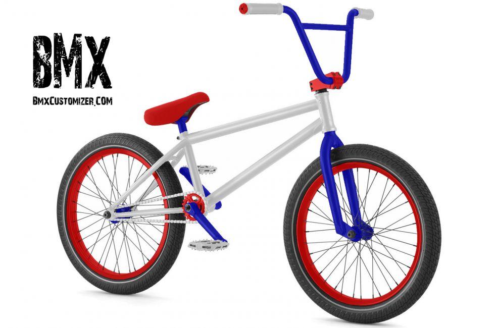 America Flag Bmx Bike
