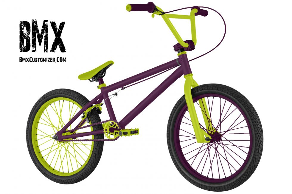 Customized BMX Bike Design 207198
