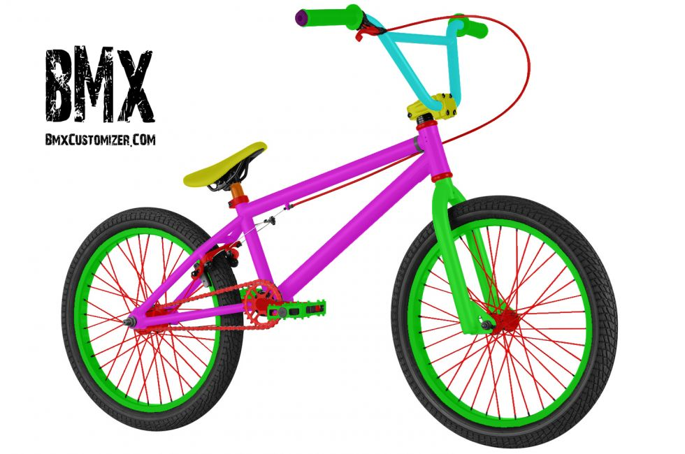 Customized BMX Bike Design 208372