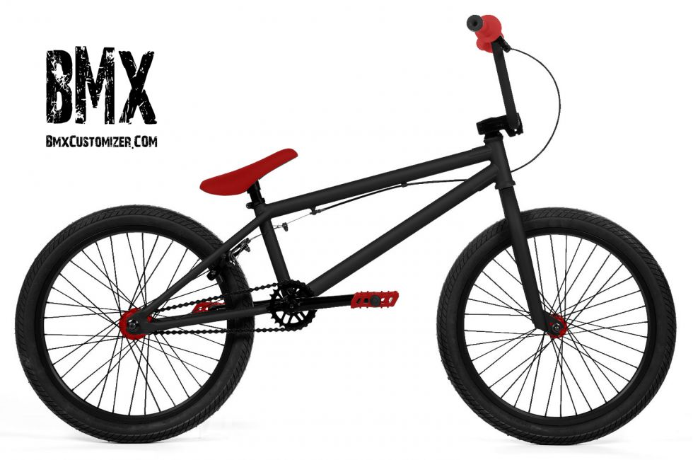 Red Bmx Bike Grips