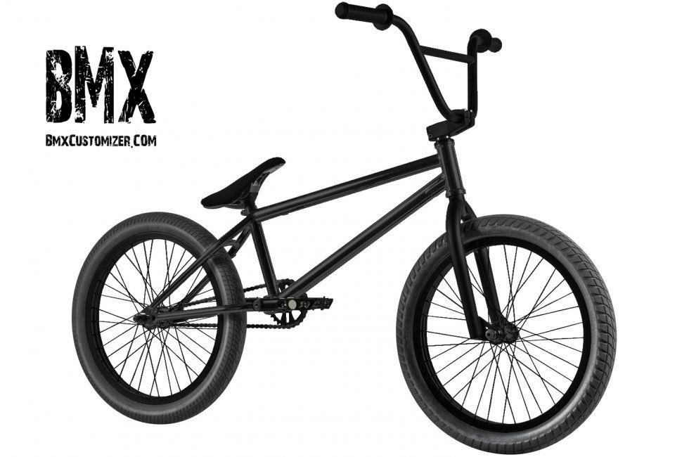 All Black Bmx Bike Stealth Rider