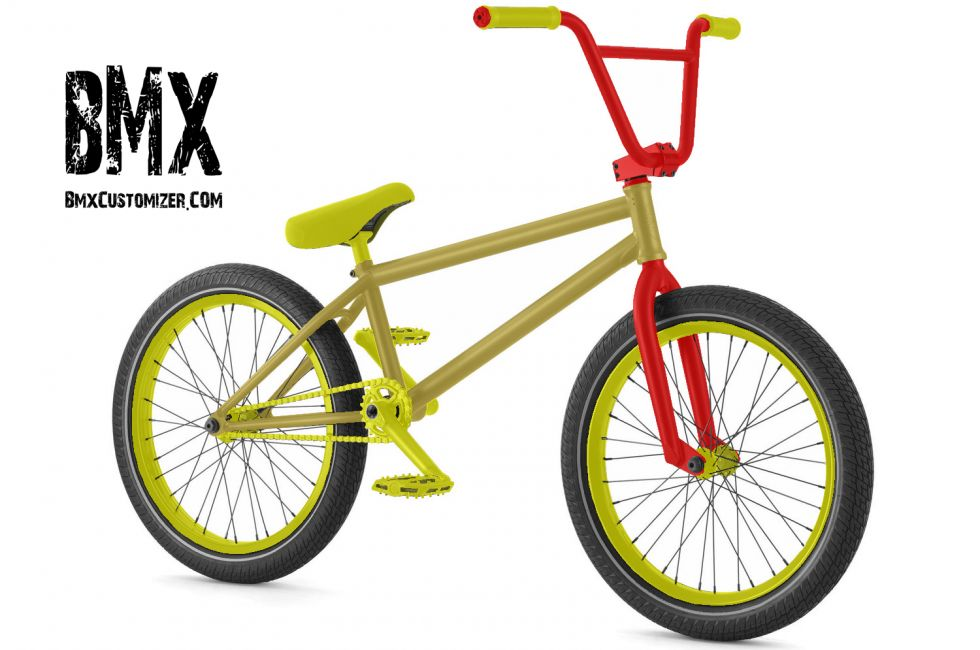 Customized BMX Bike Design 241428