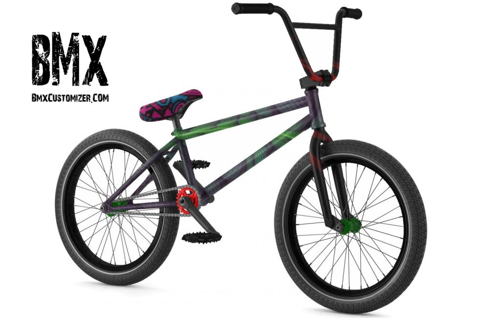 Customized BMX Bike Design 242807