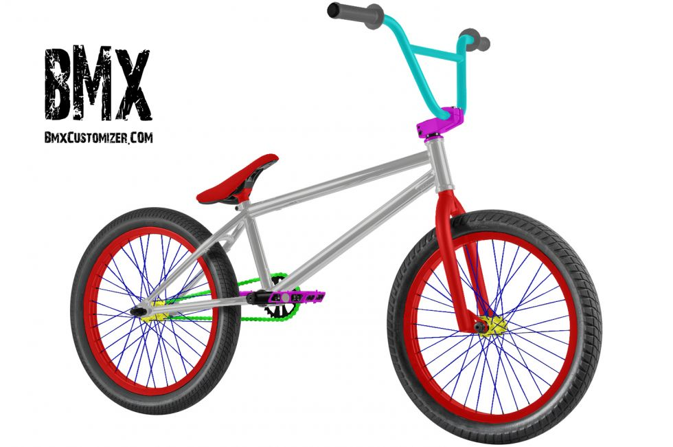 Customized BMX Bike Design 248238