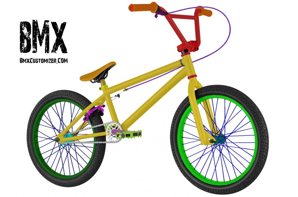 Customized BMX Bike Design 249120