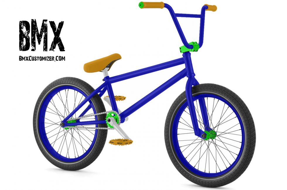 Customized BMX Bike Design 252842
