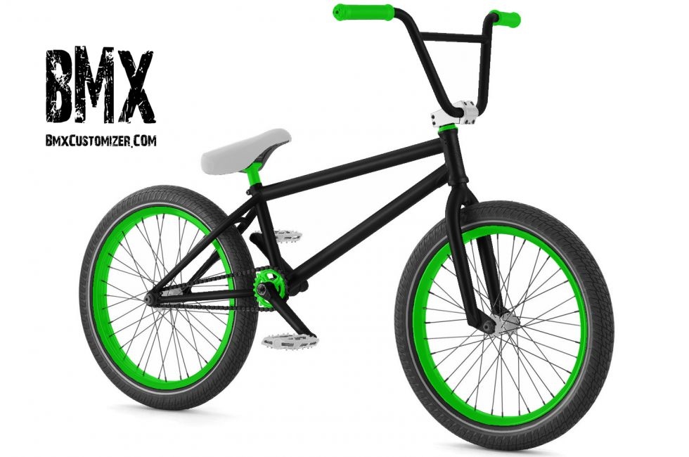 Customized BMX Bike Design 258925