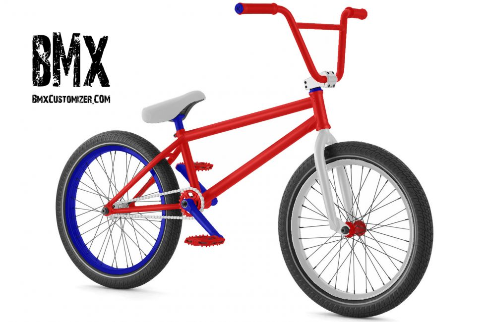 Customized BMX Bike Design 260563