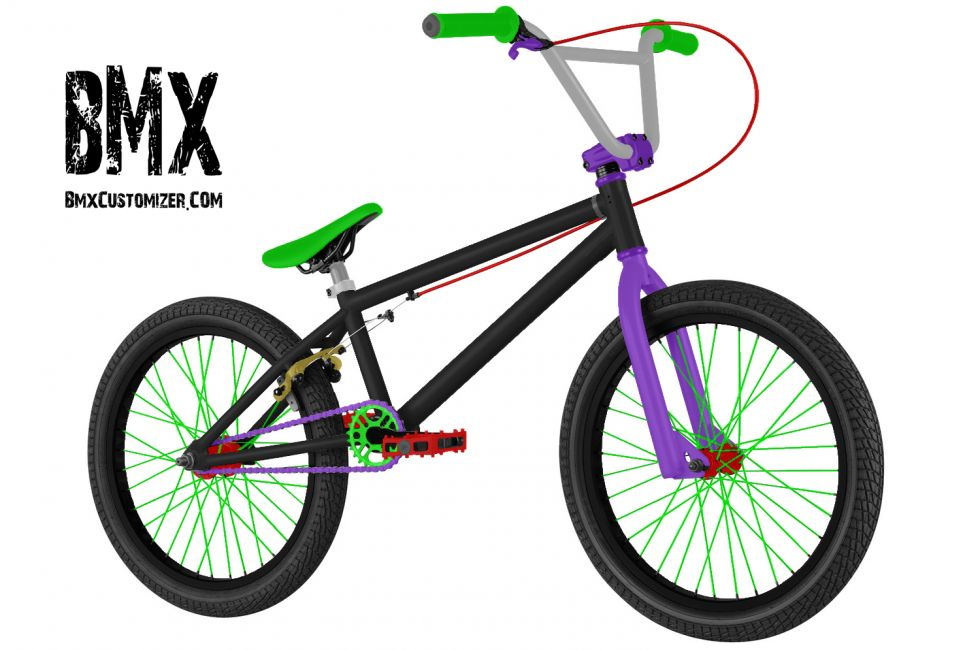 Customized BMX Bike Design 260638
