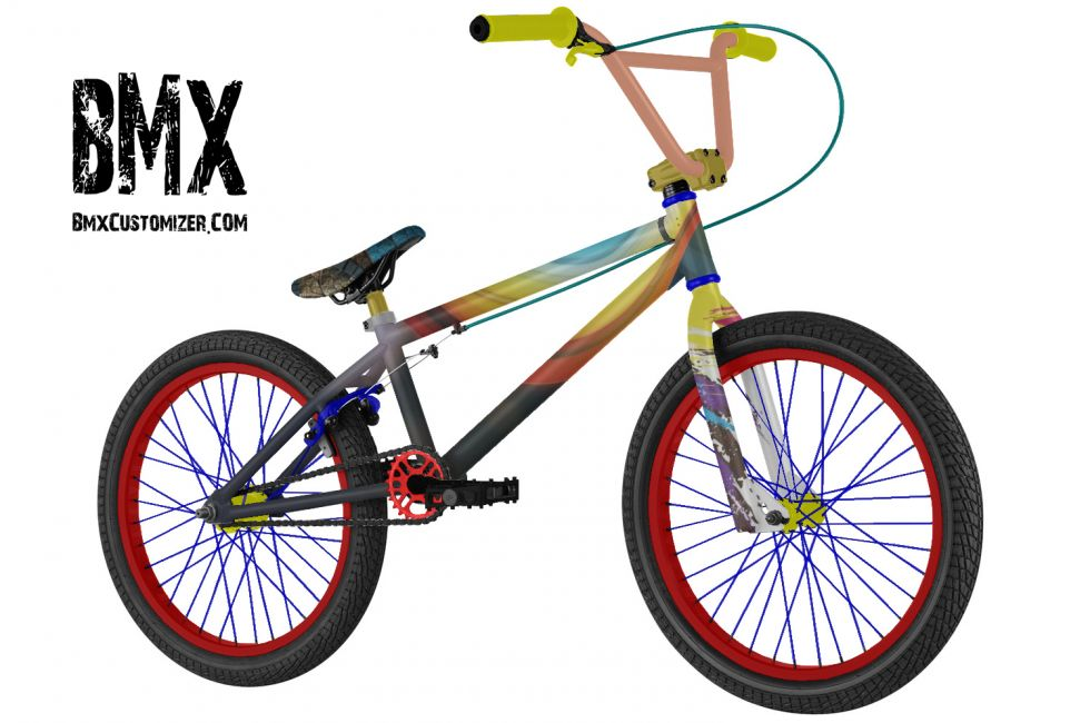 Customized BMX Bike Design 262026