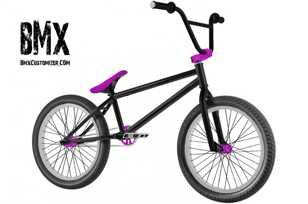 Customized BMX Bike Design 270363