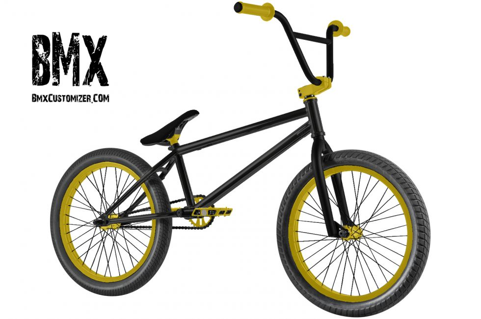 Customized BMX Bike Design 270868