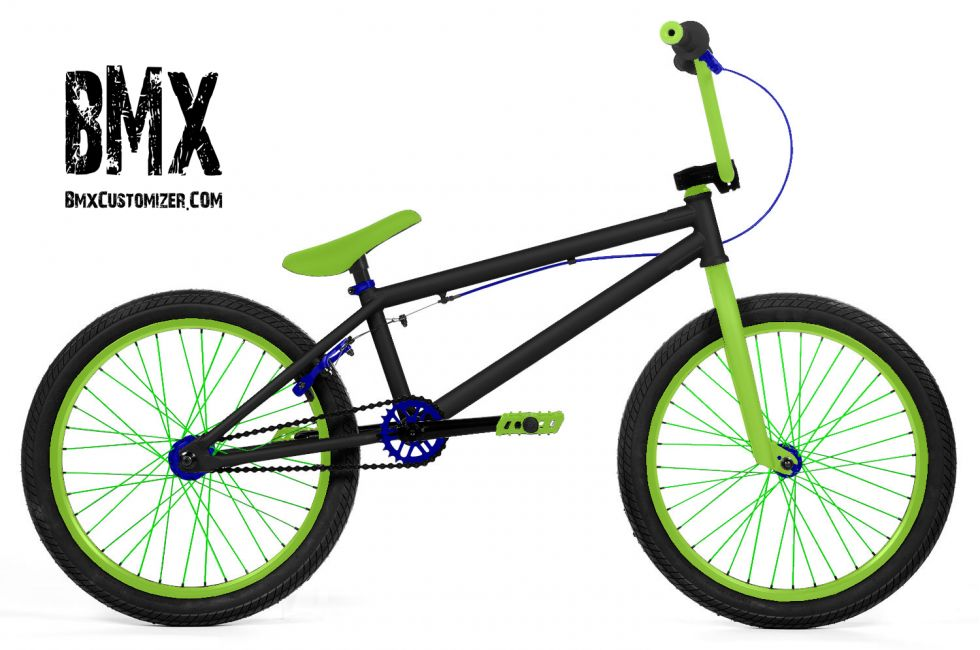 Customized BMX Bike Design 271036