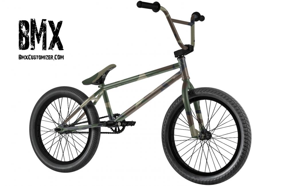 Customized BMX Bike Design 272523