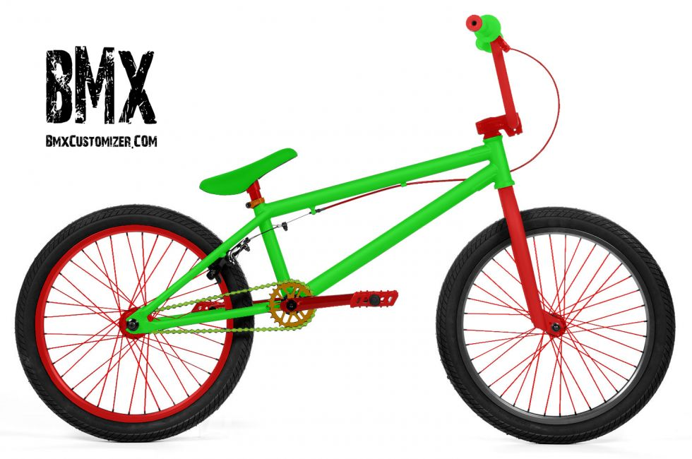 Customized BMX Bike Design 276475