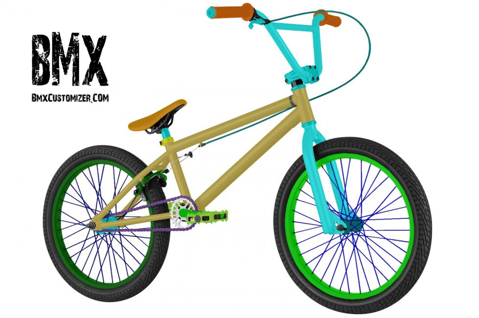 Customized BMX Bike Design 277666
