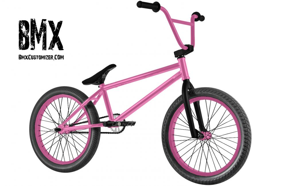 Customized BMX Bike Design 280416