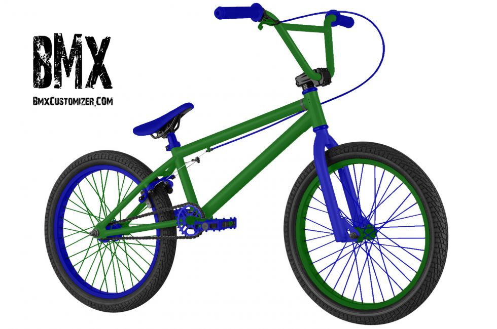 Customized BMX Bike Design 281020