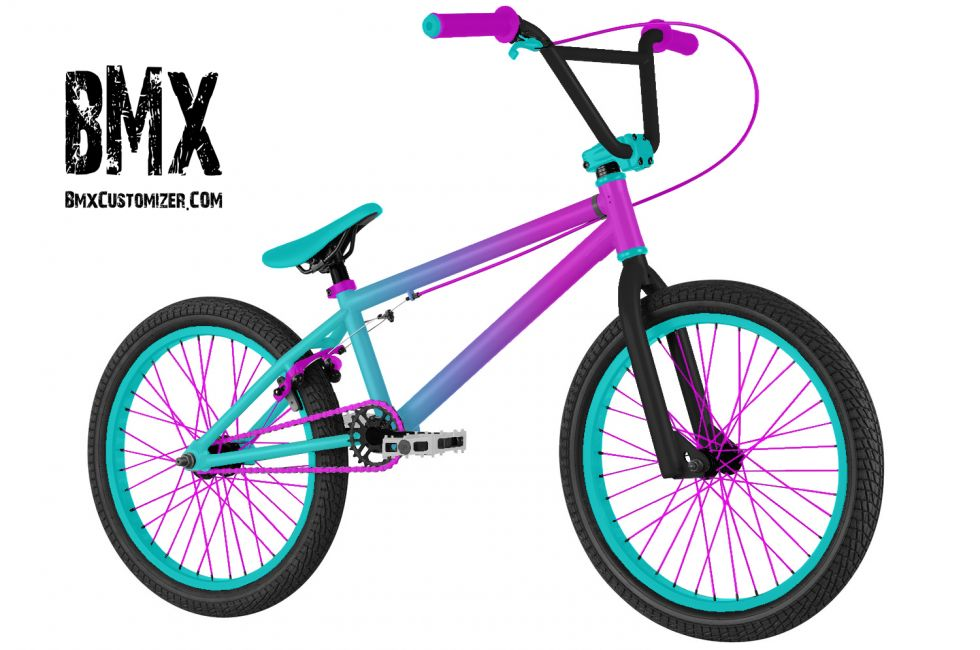 Customized BMX Bike Design 281082