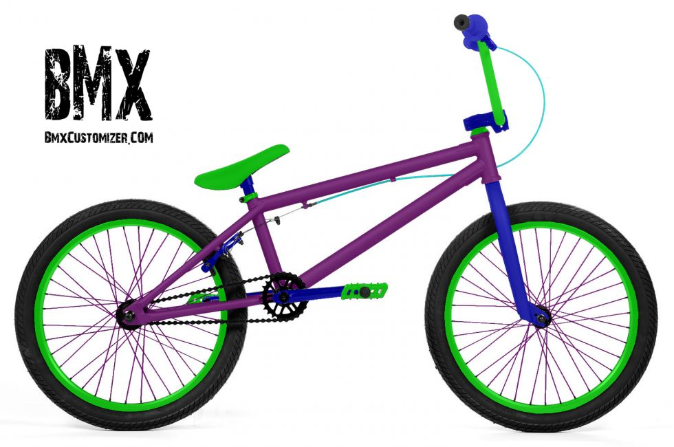 Customized BMX Bike Design 281512