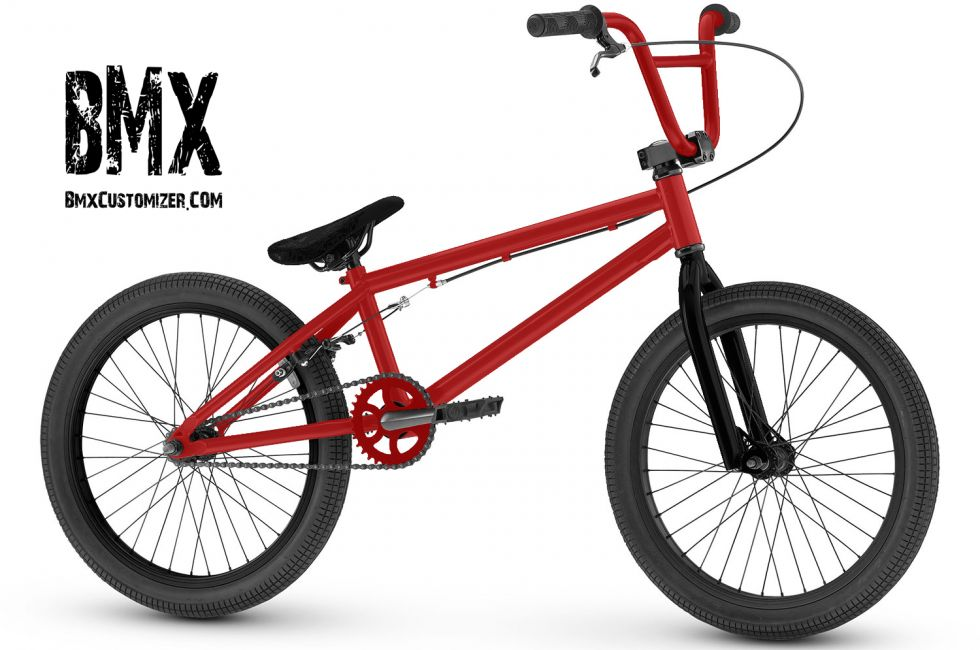 Customized BMX Bike Design 287060