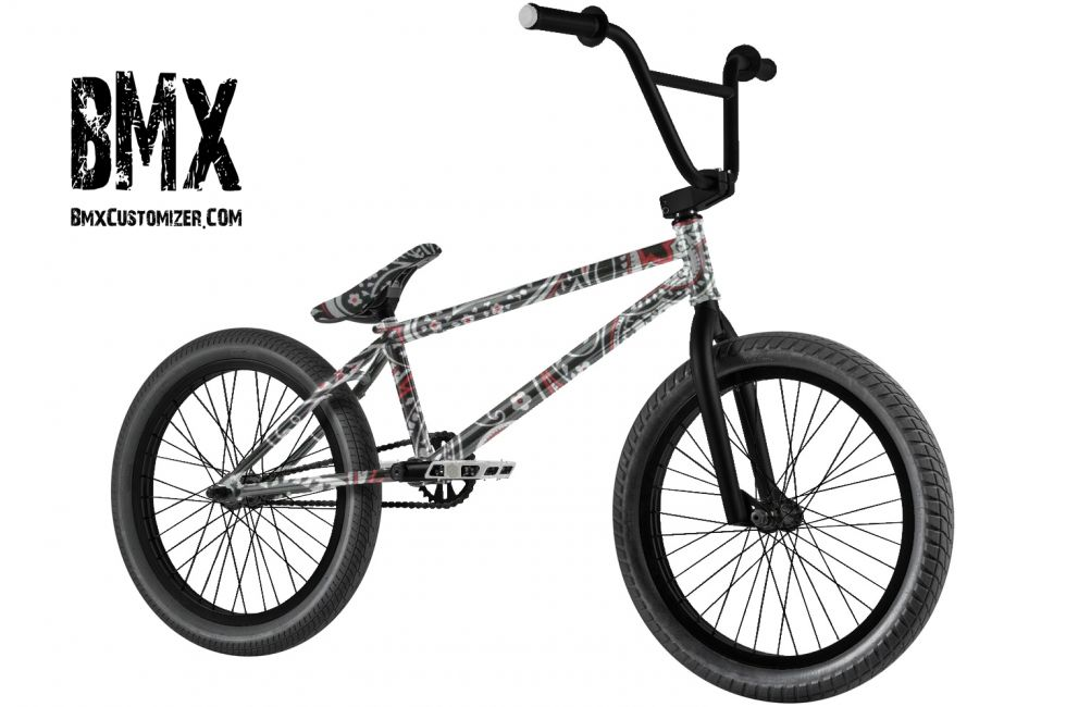 Customized BMX Bike Design 287101