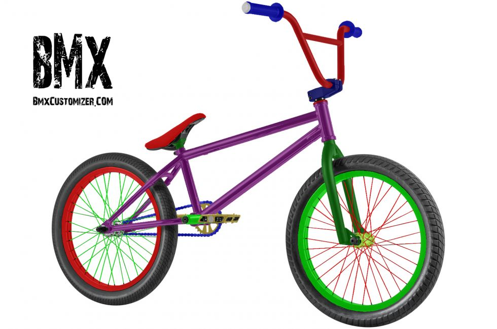 Customized BMX Bike Design 288456