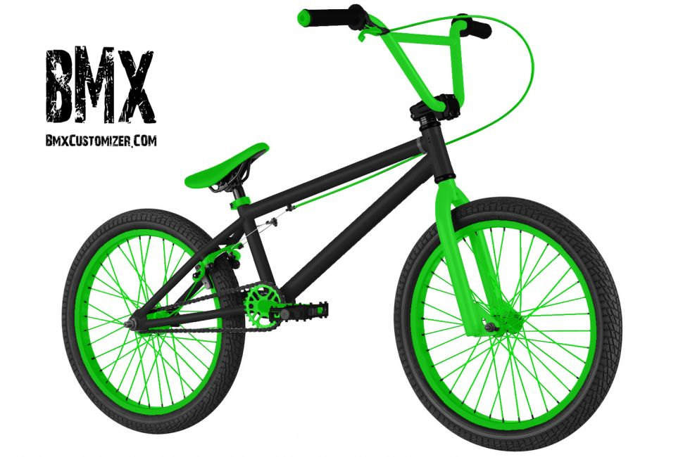 Customized BMX Bike Design 290182