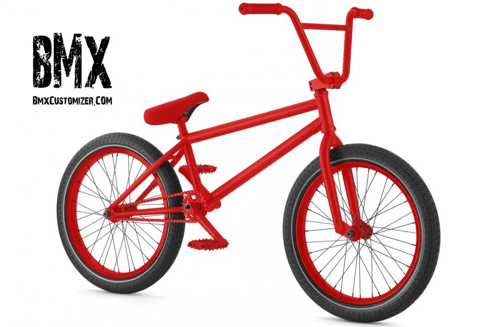 Customized BMX Bike Design 290410