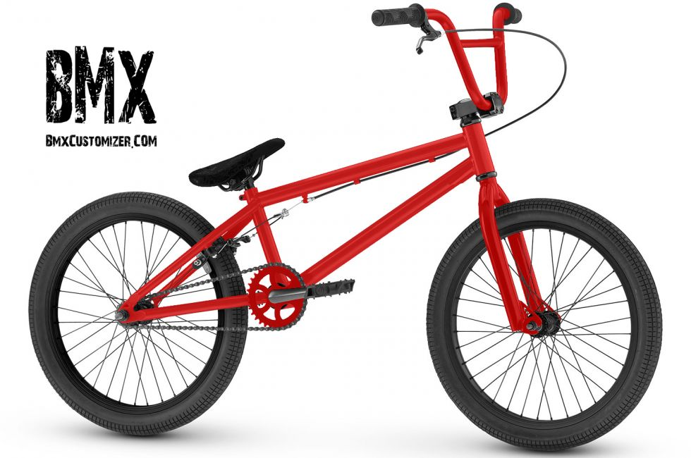 Customized BMX Bike Design 291552