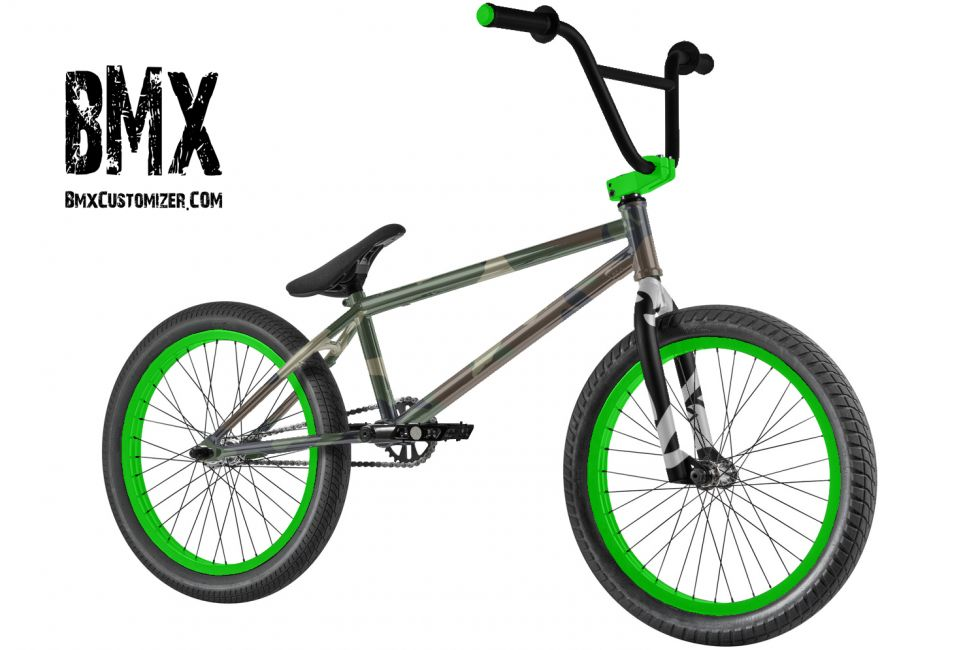 Customized BMX Bike Design 291668