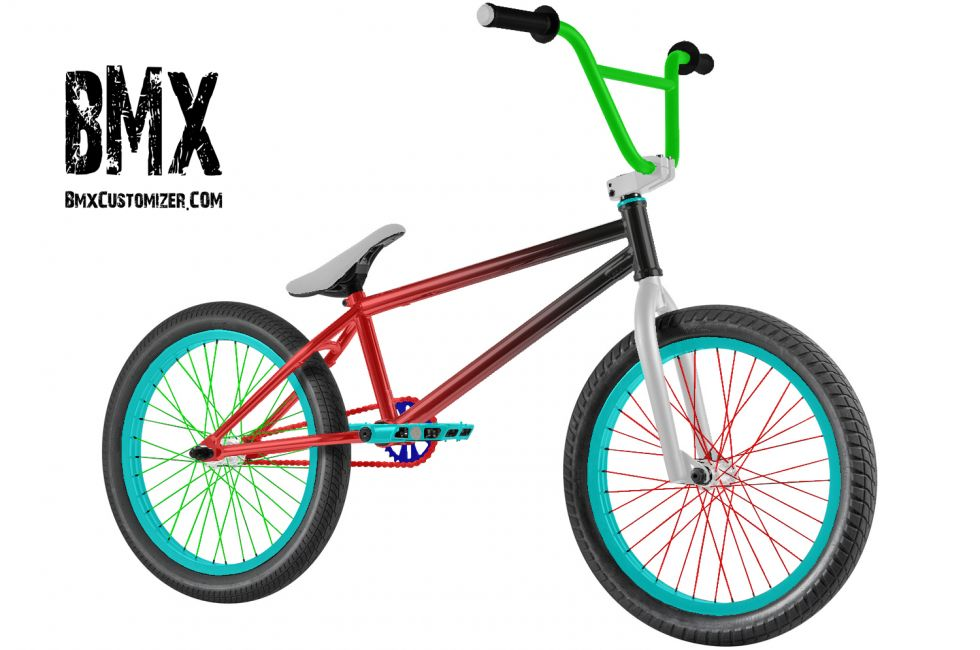 Customized BMX Bike Design 292408