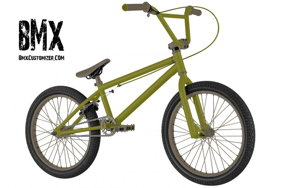 Customized BMX Bike Design 294196