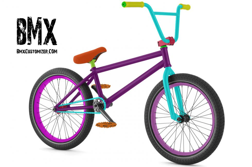 Customized BMX Bike Design 295114