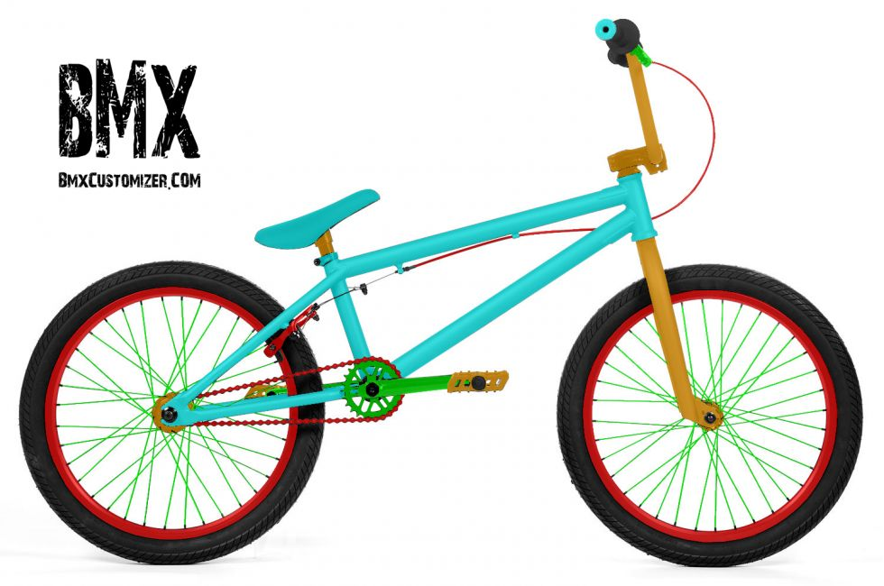 Customized BMX Bike Design 297080