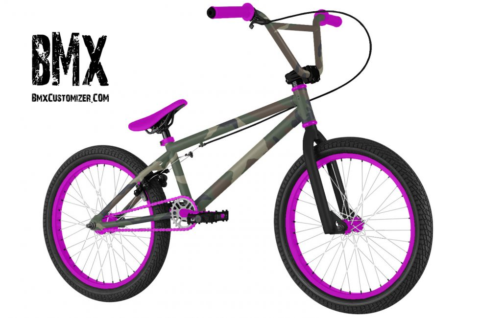 Customized BMX Bike Design 298540