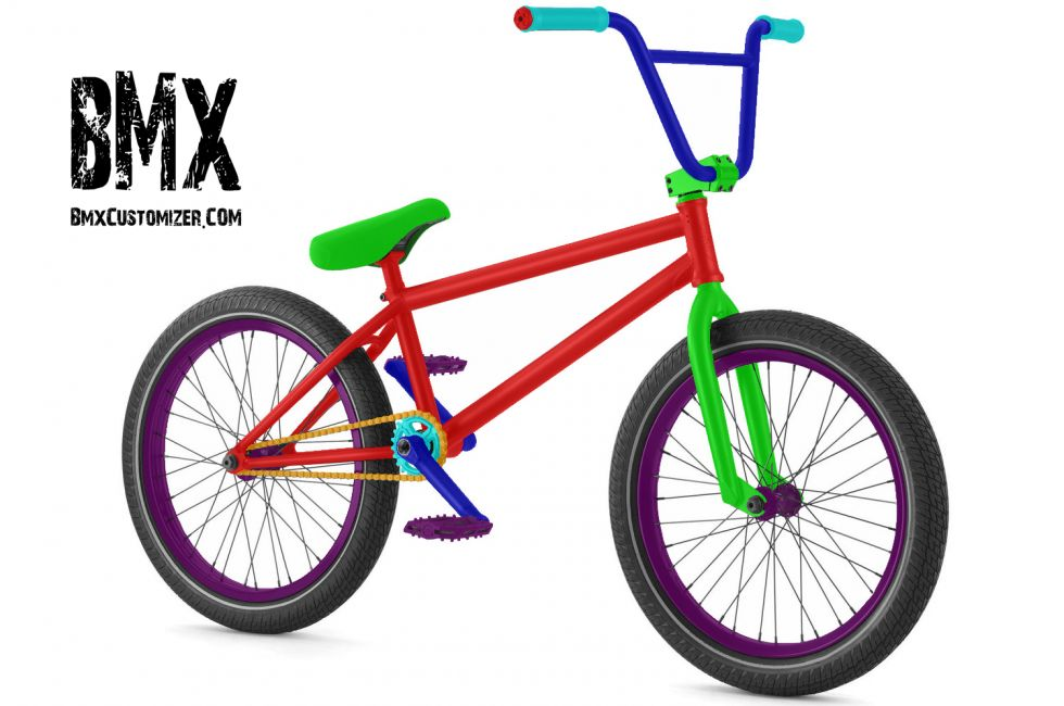 Customized BMX Bike Design 298718