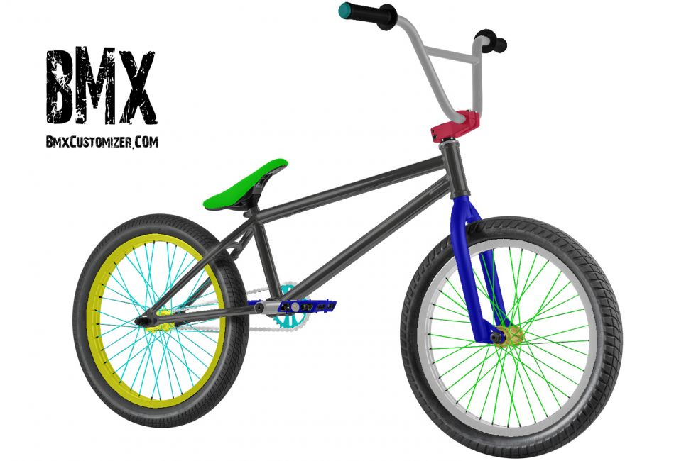 Customized BMX Bike Design 298797