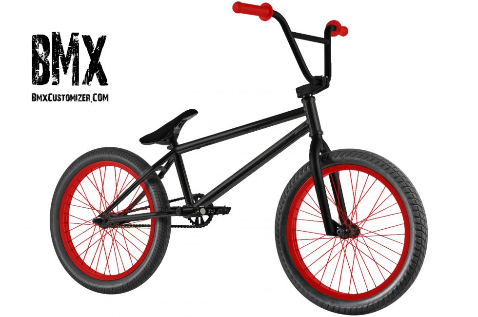 Customized BMX Bike Design 299023