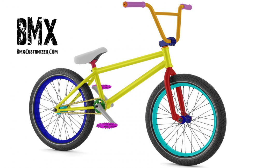 Customized BMX Bike Design 299318