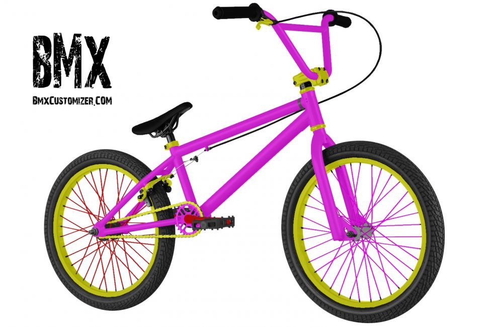 Customized BMX Bike Design 299336