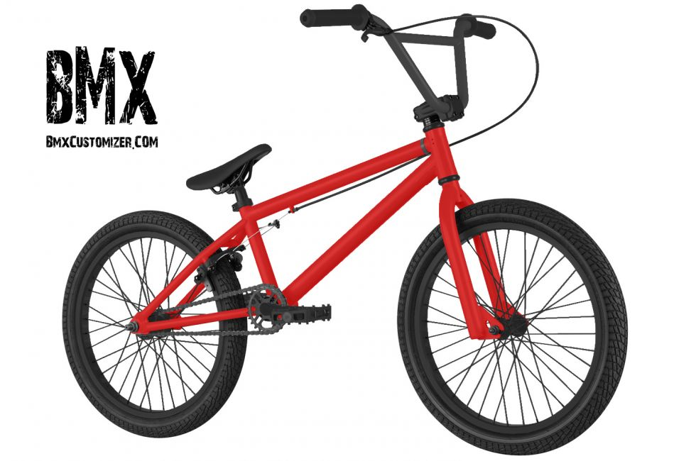 Customized BMX Bike Design 300317