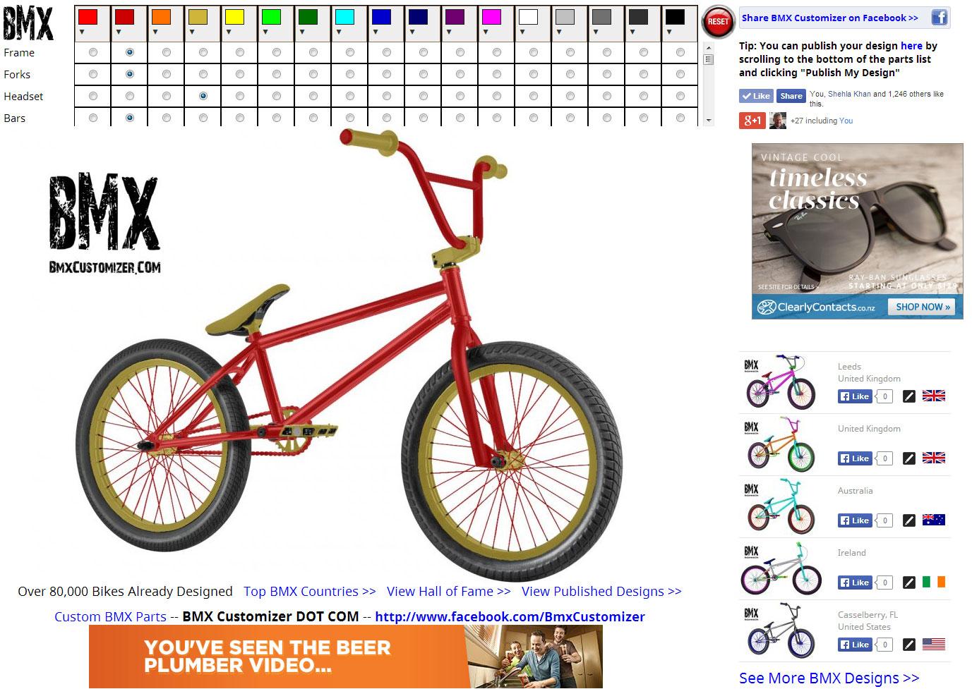 Design Your Own Bike Frame Online