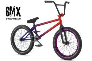Blue And Purple Bmx Bikes