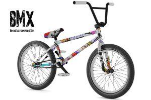 Sticker Bomb BMX Bikes - Custom bmx stickers